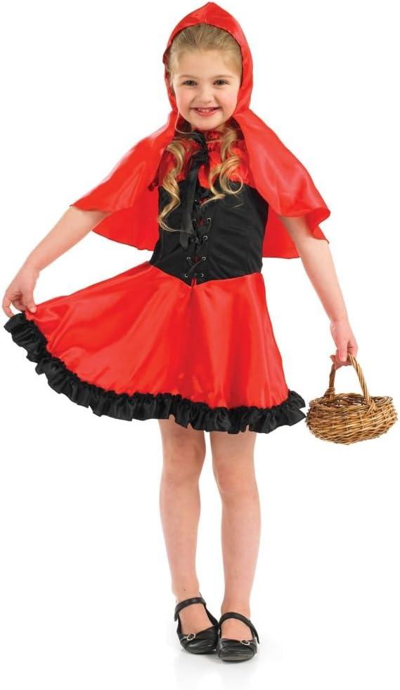 Girl - Disfraz de Caperucita Roja para niña, talla 10-12 años ...