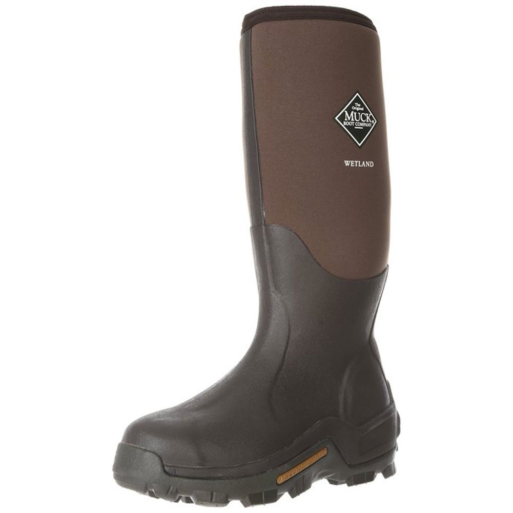 Muck Boot Men's Wetland Waterproof/Work/Insulated/Gardening/Camping 10 M Brown by Muck Boot (Image #1)