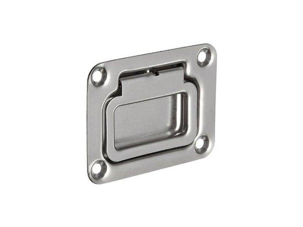 76 x 57 mm Seachoice 50-36701 Tirador rectangular tapa tambucho inox