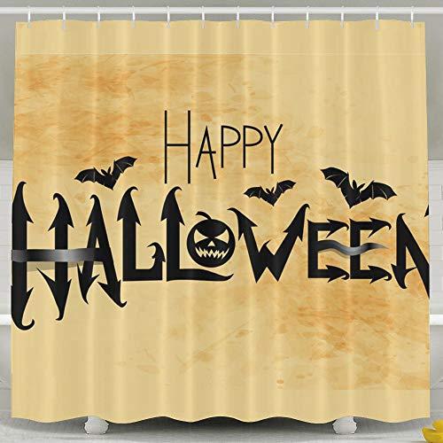 Silinana Happy Halloween 6072 Inch Bathroom Shower Curtain
