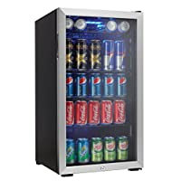 Centro de bebidas Danby 120 latas, acero inoxidable DBC120BLS