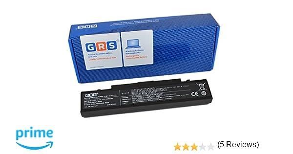 GRS Batería para Samsung R505 R520 R730 R620 R780 R580 R507 R420 R522 R519 R720 R460 R430 NP-R519 R480 R470 sustituye a: AA-PB9NC6B, AA-PB9NS6B, AA-PB9NC6W, ...