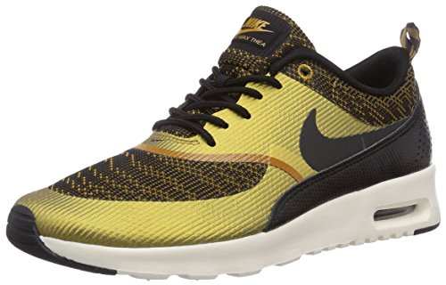Nike 2015 Q1 Air Max Thea Kjcrd Women Running Sneaker Shoes 748646-700 Bronzine / Black-sail