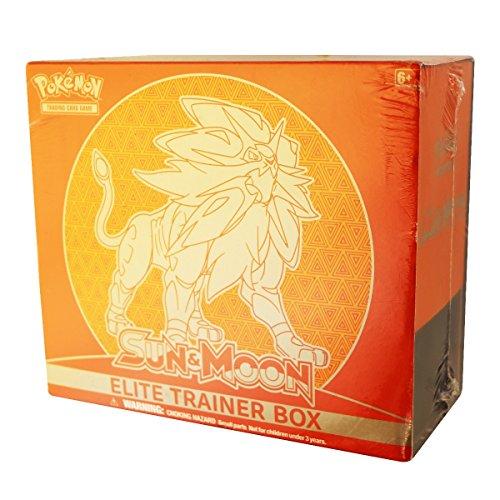 Pokemon Sun and Moon Elite Trainer Box Lunala (Pokemon Sun And Moon Elite Trainer Box)