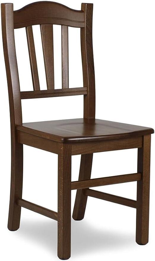 sedia in legno modello silvana