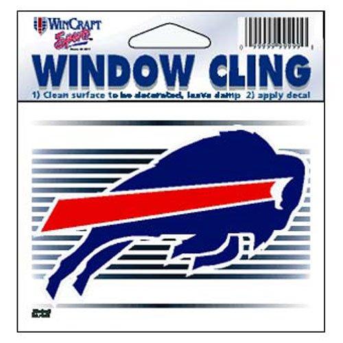 (Buffalo Bills NFL 3x3 Static Window Cling Decal)