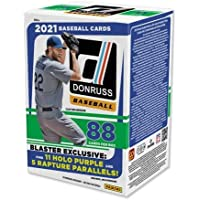 $40 » 2021 Panini Donruss MLB Baseball BLASTER box (88 cards/bx)