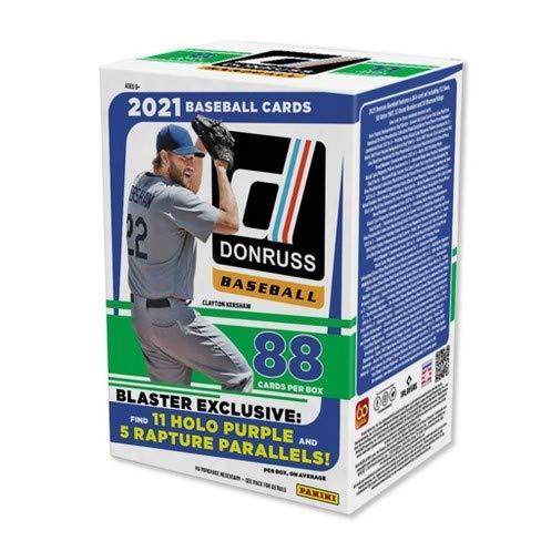 2021 Panini Donruss Baseball BLASTER box (88 cards/bx)