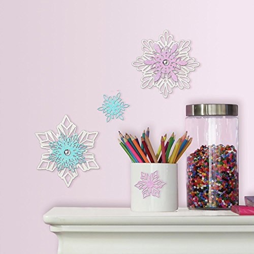 RoomMates Disney Frozen Snowflake Embellishments