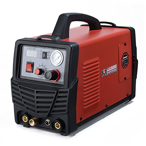 Amico CTS-160, 30A Plasma Cutter, 160A TIG-Torch, 140A Stick Arc Welder 3-in-1 Combo Welding
