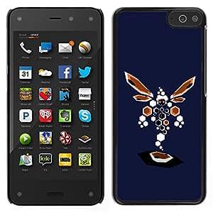 LECELL--Funda protectora / Cubierta / Piel For Amazon Fire Phone -- Resumen de la libélula --