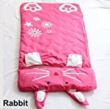 Cute Baby Kid Toddler Infant Child Cartoon Grow Swaddle Wrap Sleeping Bag Sleepsack Sleep Sack Bedding Bed Set Cover Quilt Comforter (Rabbit)