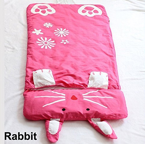 Cute Baby Kid Toddler Infant Child Cartoon Grow Swaddle Wrap Sleeping Bag Sleepsack Sleep Sack Bedding Bed Set Cover Quilt Comforter (Rabbit) by Hongyu