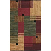 Mohawk Home New Wave Alliance Geometric Printed Area Rug, 18x210, Multicolor