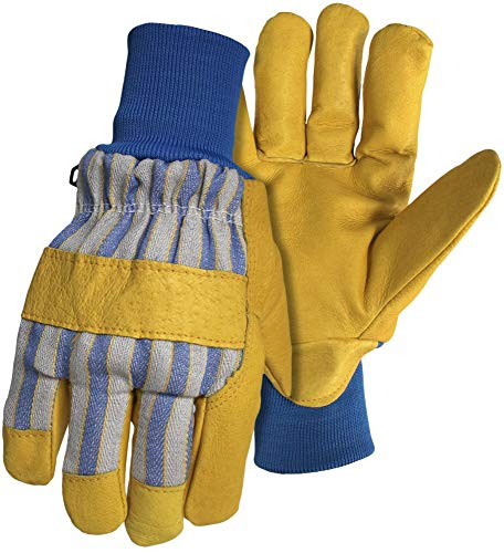 - Lined Grain Pigskin Leather Palm Glove, UPC#072874050122, MFG#4341X, Size: Extra Large