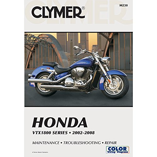 CLYMER REPAIR/SERVICE MANUAL HONDA VTX1800 02-08