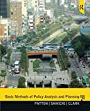 img - for Basic Methods of Policy Analysis and Planning by Carl Patton (2012-02-29) book / textbook / text book