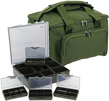 Bo/îte /Équipement 4+1 Sac de Voyage Bagage Quickfish Combo NGT P/êche /à la Carpe Carry All
