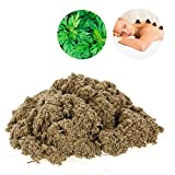 Gold Moxa Premium Natural Mugwort for Moxibustion to Expelling Cold Relieve Pain Moxibustion Moxa Health Care Heating Massage (1000g)