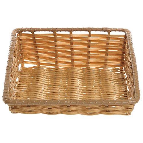 - Tapered Storage Basket, Natural Color, Rectangular - 11 1/2 L x 14