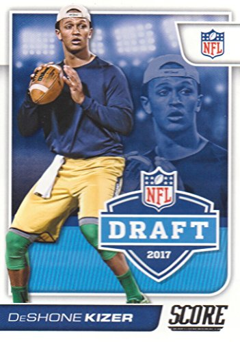 2017 Score Football NFL Draft #4 DeShone Kizer Notre Dame Fighting ()