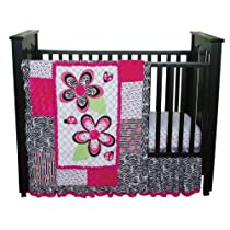 Trend Lab 3 Piece Crib Bedding Set Zahara