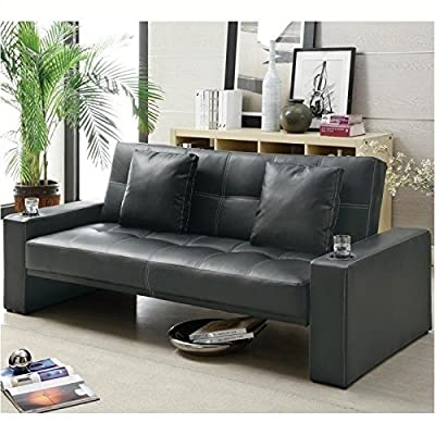 Coaster 300125 Sofa Beds Futon Styled Sofa Sleeper with Casual Furniture