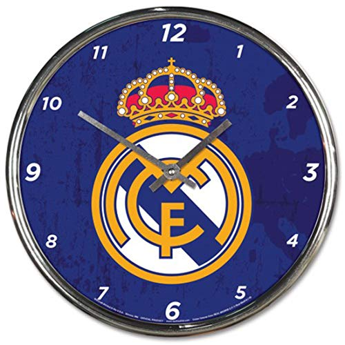 Wincraft Real Madrid Wall Clock Chrome Plated 12