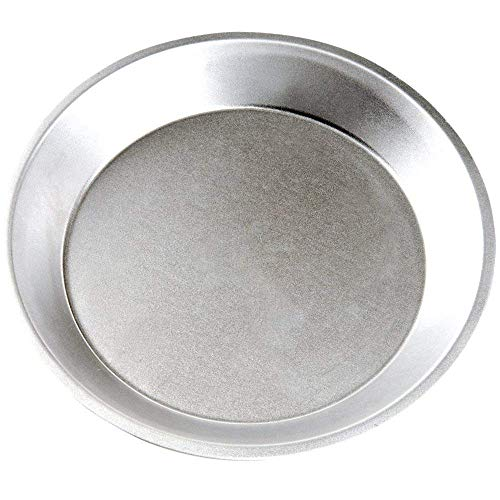 Pie Plate Aluminum Metal 10 Inch Pan - 21 Guage Commercial Grade - Set of 10