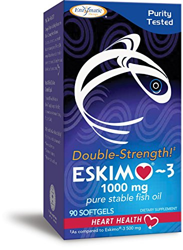 Enzymatic Therapy Eskimo-3 Double-Strength Supplement, 90 Count