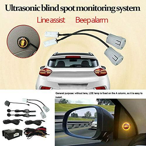 Beauneo System Zur /üBerwachung des Toten Winkels im Auto Ultraschall Sensor Entfernungs Assistent Spur Wechsel