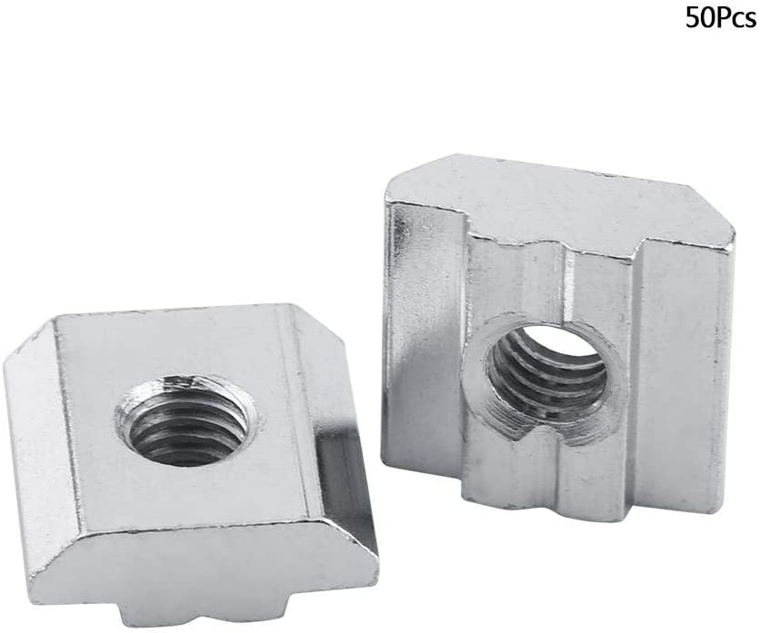 Aluminum T-slot profile slide-in End Fastener 40x40-8 12-set