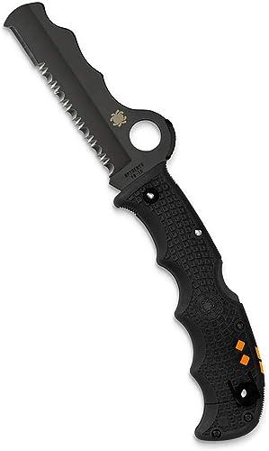 Spyderco Assist Lightweight Folding Knife - Black FRN Handle w/Combination Edge