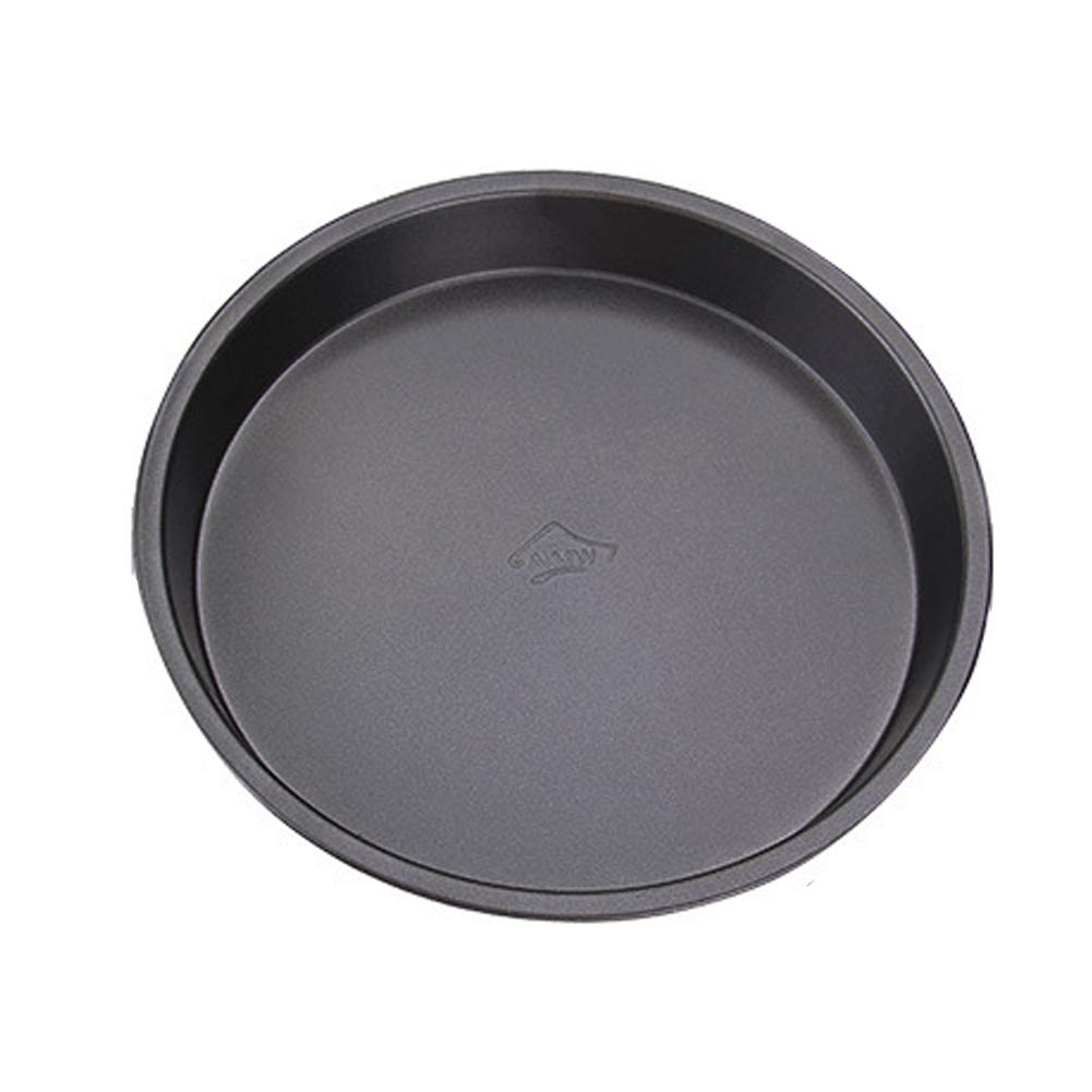 Carbon Steel Pizza Dish 6 Inches Non-Stick Deep Dish Pizza Pan Tart Pan Round Tray Pie Pans Pizza and Cheesecake Pan 1pc