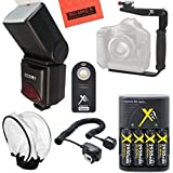 690EX Pro Series Digital DSLR Dedicated Camera Flash PRO Kit for Canon Digital EOS Rebel SL1, T1i, T2i, T3, T3i, T4i, T5, T5i EOS 60D, EOS 70D, 50D, 40D, 30D, EOS 5D, EOS 5D Mark III, EOS 6D, EOS 7D, EOS 7D Mark II, EOS-M Digital SLR Cameras