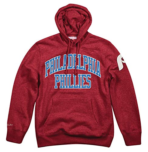 Mitchell & Ness Philadelphia Phillies MLB Playoff Win Pullover Hooded Sweatshirt