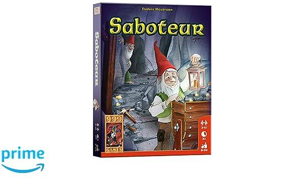 999 Games Saboteur - Juego de Tablero (30 min, Niño/niña, 8 año(s ...