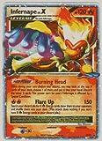 Pokemon Diamond & Pearl 2007 Infernape Lv. X Promo Card DP10 [Toy]