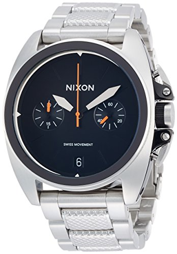 [ニクソン]NIXON ANTHEM CHRONO: BLACK NA930000-00 メンズ