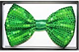Green Sequin Bow Tie [72 Pieces] *** Product Description: Green Sequin Bow Ti...