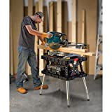 Keter Folding Work Table/Bench - 700-Lb. Capacity with Extendable Legs