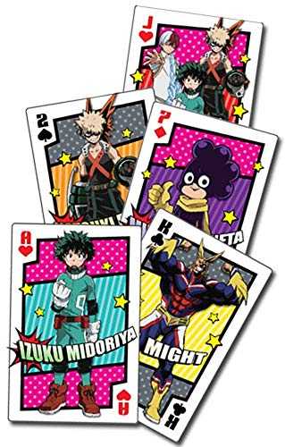 Great Eastern Entertainment My Hero Academia Group Hero Costume Playing Cards]()