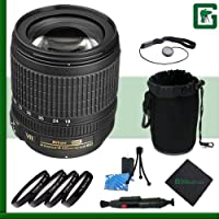 Nikon 18-105mm VR Nikkor Lens Greens Camera Package 6