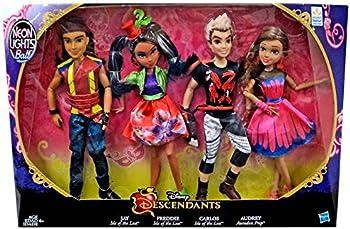 Disney Descendants Neon Lights Ball Exclusive 4-Pack