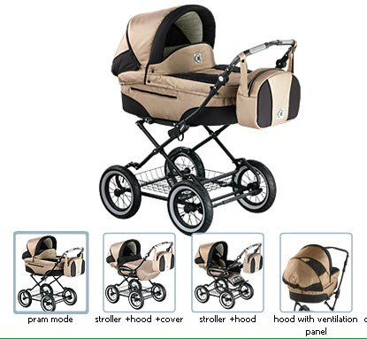 Roan-Rocco-Classic-Pram-Stroller-2-in-1-with-Bassinet-and-Seat-Unit-Multiple-Colors