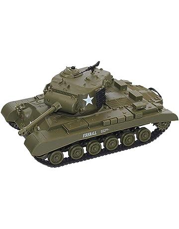 Wovemster 3841-02 Tanque de batalla 1:30 con sistema de combate infrarrojo integrado