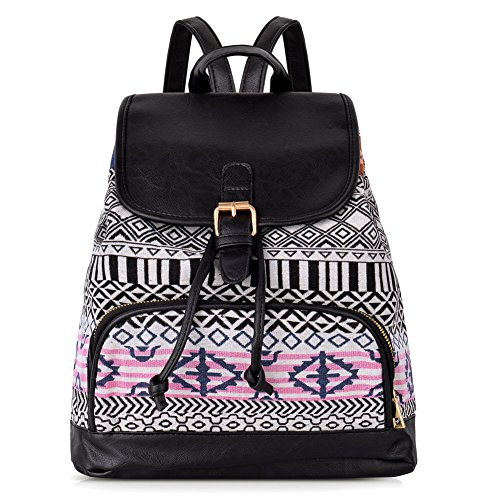 Vbiger Canvas Backpack Casual Daypack product image