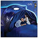 Ruiying Kids Play Tent Childs Bed Tent Playhouse for Boys Girls Fun Plays Christmas & Birthday Gifts (Space Adventure)
