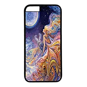 Iphone 6 case ,fashion durable black side design phone case, pc material phone cover with Josephine Wall .