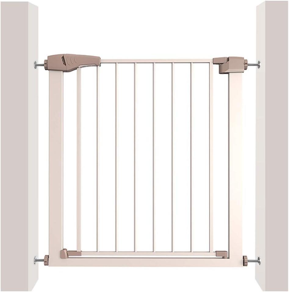ZEMIN Expandible Extra Ancho Puertas, Barrera De Seguridad Escalera Puerta for Niños Perros Auto Cerrado, Multi-tamaño (Color : H 76cm, Size : W 152-159cm): Amazon.es: Hogar